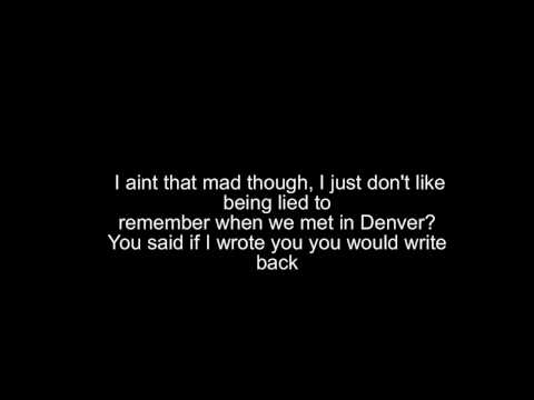 Eminem- Stan Karaoke w/ Lyrics HD