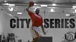 Jaquan Harrison & Khalil Iverson have in-game Dunk CONTEST @ All-Ohio Nike City Series