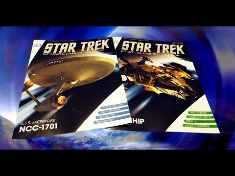 Star Trek Starships Collection #50 & 51 Review - U.S.S. Ente