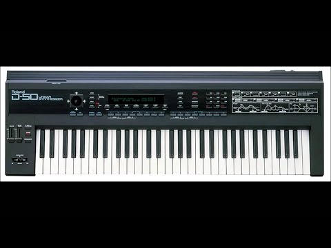 Roland D50 ALL factory sounds test