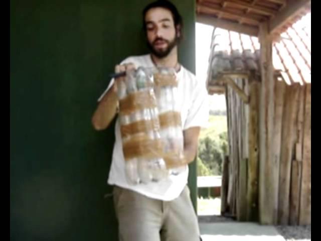 Como fazer um banco / puff de garrafas pet ?   youtube