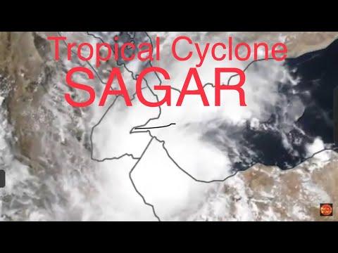 //ALERT\\Tropical Cyclone Sagar Hitting Yemen/Biggest Storm EVER Seen in South Hemisphere 5/19/2018