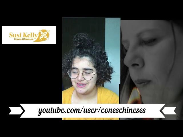 Luisa Patriota apenas 14 anos - encontra a espiritualidade