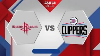 connectYoutube - Houston Rockets vs Los Angeles Clippers: January 15, 2018