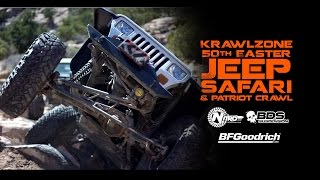 Rock Crawling Moab at 50th Easter JEEP SAFARI // Patriot Wheeling at AREA BFE