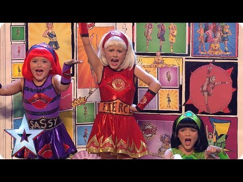 FIRST LOOK: The Cartoon Heroes are all about GIRL POWER!  | BGT 2018