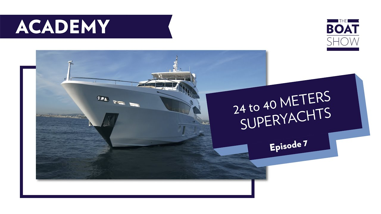 ACADEMY EPISODE 7 - 24 to 40 METERS SUPERYACHTS  - The Boat Show
