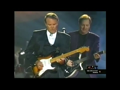 "Glen Campbell's fantastic  guitar solo on ""Galveston"""