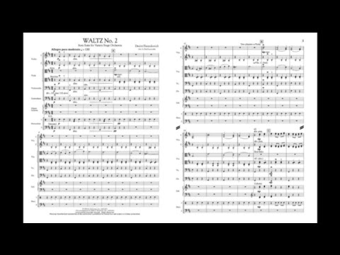 Waltz No. 2 by Dmitri Shostakovich/arr. Paul Lavender