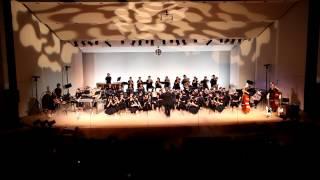 第10回宇土中宇土高吹奏楽部定期演奏会での1曲.