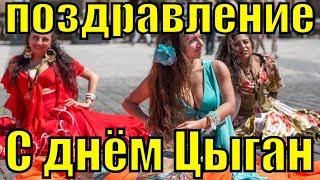 Поздравление с днём цыган цыганам прикольные видео поздравления Международный день цыган