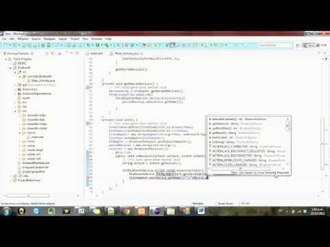 Android development Tutorial Bluetooth - 5