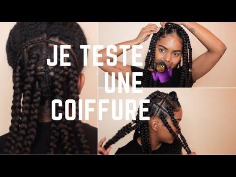 JE TESTE UNE COIFFURE 👀🤷🏾♀️ | LICIAROSEE