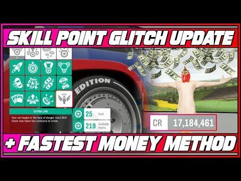 Fastest Money Method & Skill Points Glitch Update! (Forza Horizon 4) thumbnail