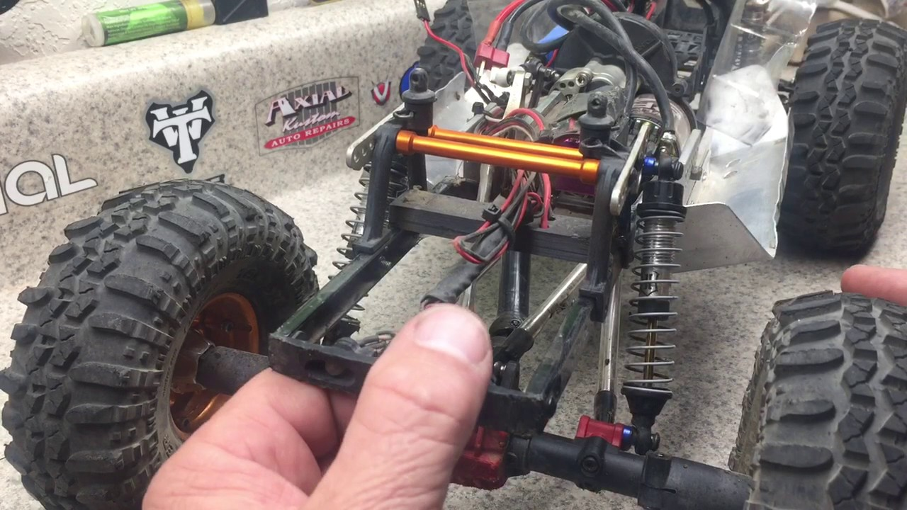 Getting the best out of your SCX10 2 shocks