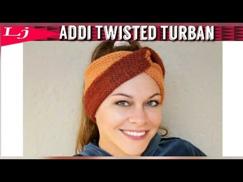 Addi Express Pro Twisted Turban