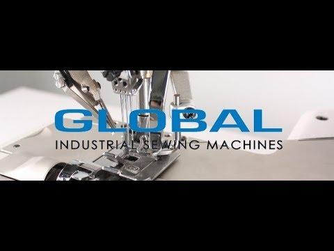 Promo Global International, industrial sewing machines.