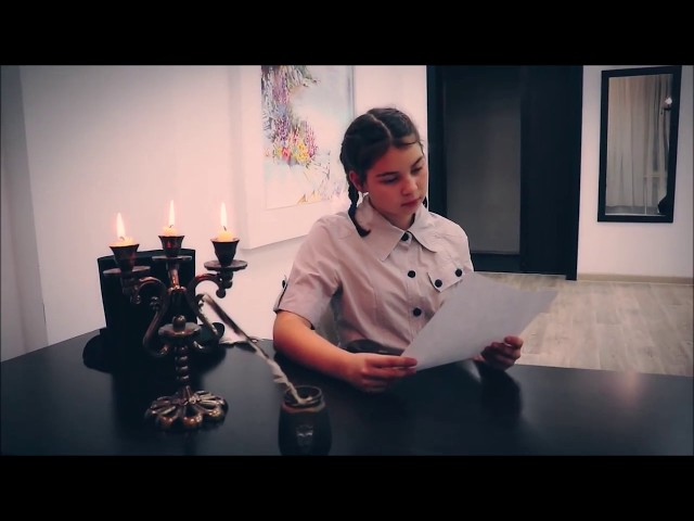 Изображение предпросмотра прочтения – КираВишнякова читает произведение «Жизнь белого листа» М.С.Сафиулина