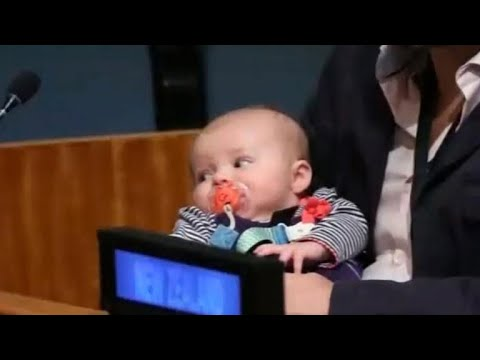 New Zealand PM Jacinda Ardern's New Baby Steals The Show At The UN