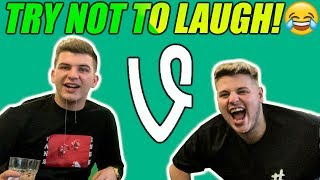 TRY NOT TO LAUGH CHALLENGE WHILE WATCHING FUNNY VINES!