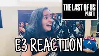 """The Last of Us Part II"" E3 2018 Trailer Reaction!"
