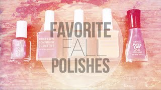 Top 5 Fall Polishes Thumbnail