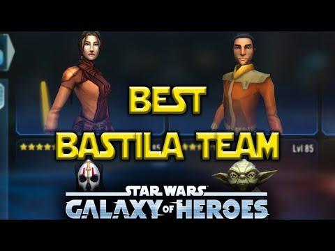 Best Bastila Shan Lead Team - Kills Traya Lead & Sith Trooper - Star Wars: Galaxy Of Heroes - SWGOH