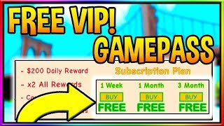 FREE VIP GAMEPASS IN SUPER POWER TRAINING SIMULATOR | Roblox