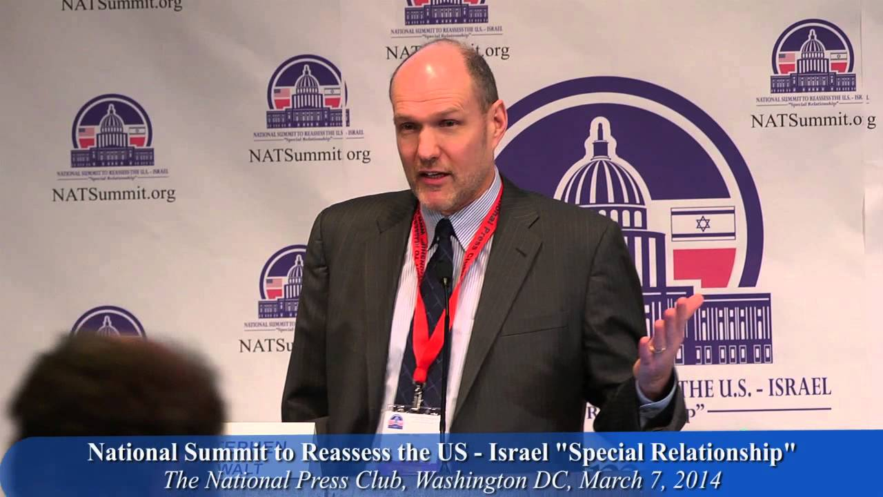 """Stephen Walt: The """"special relationship"""" and what has changed since """"The Israel Lobby"""" book"""