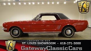 1966 Ford Mustang - Gateway Classic Cars St. Louis - #6246