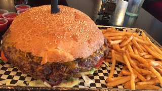Gambar cover THE BEAST | 6 LB Burger and Fries Challenge