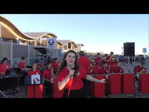 Buena Showband on the Santa Monica Pier (11-11-2016)