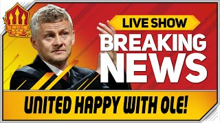 Man Utd Back Solskjaer! Man Utd News