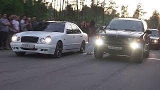 MERCEDES VS BMW  НАМ РАЗБИЛИ ШОХЕР