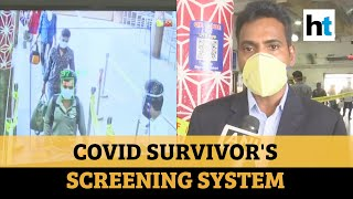 Covid survivor builds screening device to detect people with high temperature
