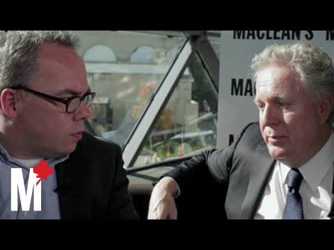 Paul Wells in conversation with Jean Charest