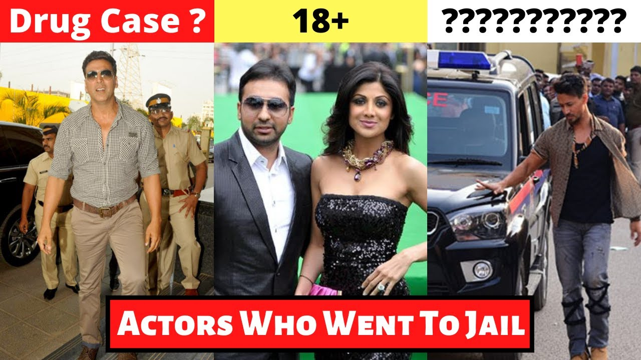 New List Of 11 Bollywood Actors Who Went To Jail For Serious Crimes - Shilpa Shetty, Raj Kundra