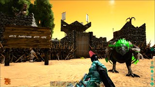 ARK Survival Evolved #20: Fancy Fortress & Wolf Pack
