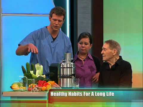 Jack LaLanne and the Power Juicer Pro on The Doctors