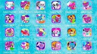 Cute & Tiny Pets,Preschool,Toys,Magic Makeover,Birthday,Christmas,Fun Park,Hair Salon,Ice Cream