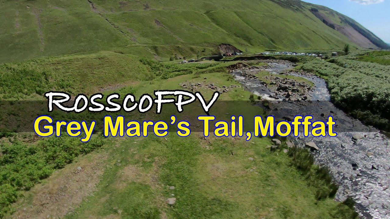 Long Range FPV Drone Flight #03 - Grey Mare's Tail - Scotland - Rossco FPV картинки