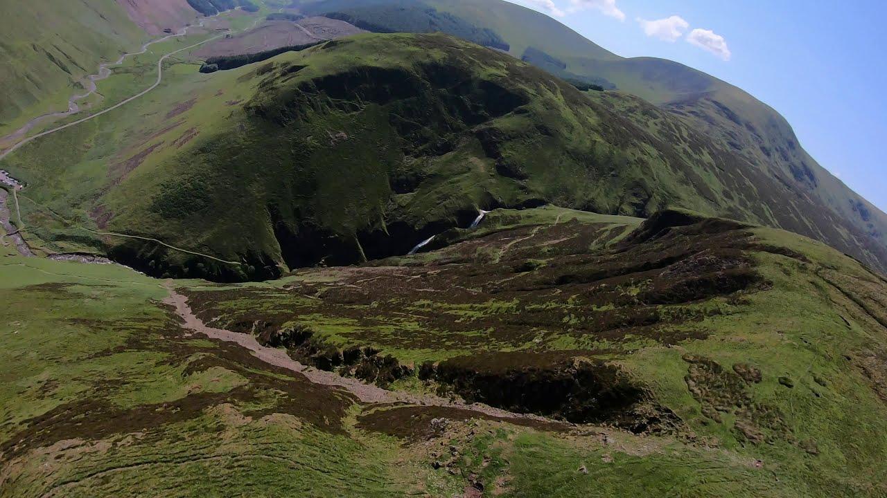 Long Range FPV Drone Flight #03 - Grey Mare's Tail - Scotland - Rossco FPV фото