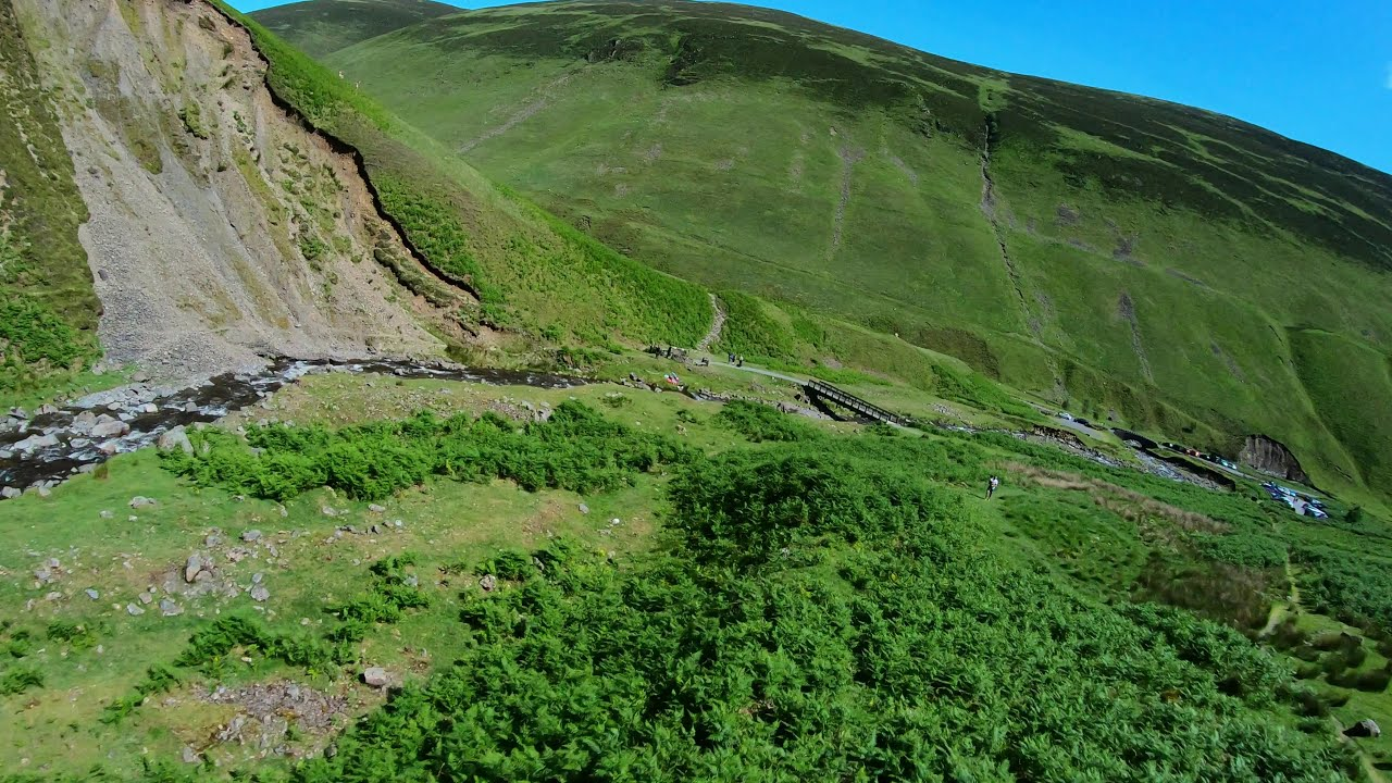 Long Range FPV Drone Flight #03 - Grey Mare's Tail - Scotland - Rossco FPV фотки