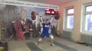 Соревнования по тяжелой атлетике. Турнир памяти Богдановского.