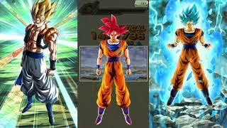 Dokkan Battle LR Gogeta + Saibamen vs AGL Goku!