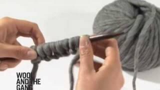 Le montage des mailles au pouce - tuto tricot