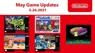 NES & Super NES - May 2021 Game Updates - Nintendo Switch Online