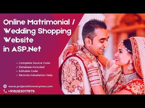online-matrimonial-and-wedding-shopping-website-project-in-asp-net