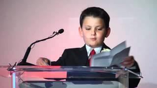 Jared Kuper speaking at Ritz Carlton