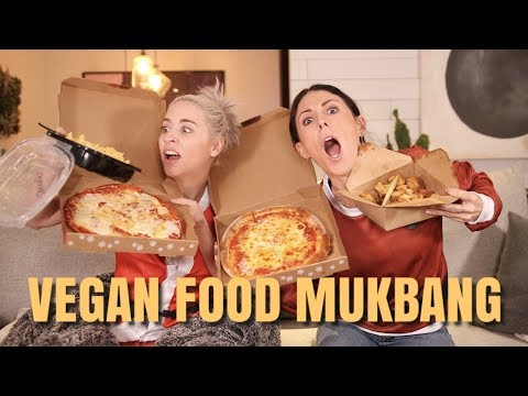 Vegan Fast Food Mukbang Ft Lily Marston & Our Obsession with Elle Mills!?
